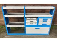 Van Racking / Shelving - BRI-STOR - V G Condition - 5 Shelves/3 Drawers/3 Cases - Includes Fixings