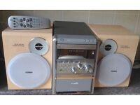 Philips MCM7/37 mp3 Micro Shelf HI-FI 50watts System stereo