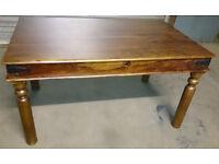Dining table Sheesham hard wood design Thakat