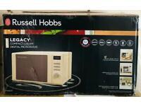 Russel Hobbs Legacy Microwave- Cream colour