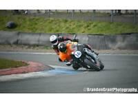 Cbr 600 track race bike