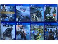 Wanted PS4 games