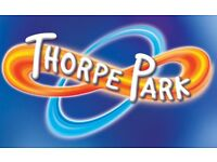 2 Thorpe Park Tickets for Thursday 26th July 2018 26/07/2018