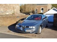 2003 Alfa Romeo 156 2.0 JTS Veloce - 41,000 miles and low ownership, red 'Momo' leather!