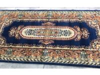 Selection of wool & cashmere rugs happy to sell singles or multi