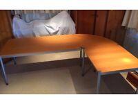 Corner Computer Desk / Table - Flexible Shape