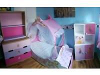 Full princess bedroom set Ikea