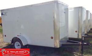 2017 Royal Cargo 5x10 LT   Ramp Door   Cargo/Enclosed   White