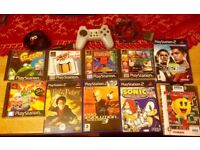 Bundle of Retro Console Games and Accessories