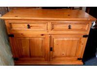 Solid Pine Sideboard/Dresser Base