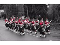 The Breaston Highlanders Marching Band Wants You!!!