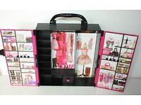 Barbie Fashionistas Ultimate Closet - Pink Carry Wardrobe Case