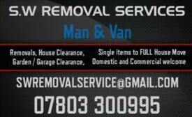 Man & Van / Removals