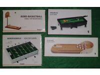 4 Mini Sports Games (new)