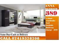 anna double Bed Setroom set