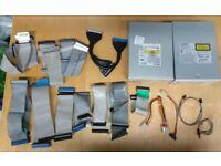 Job Lot IDE Ribbon Cables CD / DVD Internal Drives
