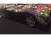 Boys car batman single bed