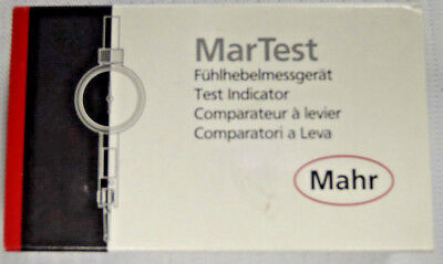 Mahr Federal 0.01 Inch Range 0.0005 Inch Dial Graduation Horizontal Dial Test