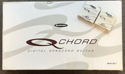 Suzuki QC-1 Q Chord Digital Songcard Guitar USED IN BOX for sale  Cartersville