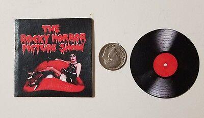 Miniature record album Barbie Gi Joe  Playscale1/6  2