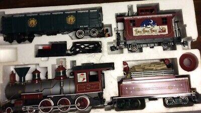 Vintage Bachmann Big Haulers Christmas G Scale Train Set # 90023 Untested.