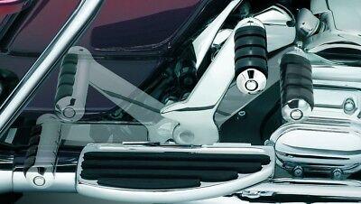 Adjustable Passenger Pegs - Kuryakyn 7926 Chrome Adjustable Passenger Pegs 1993-2006 Harley Touring