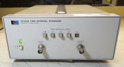 Hp 10326a Time Interval Standard