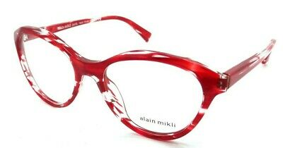 a98735c371 Alain Mikli Rx Eyeglasses Frames A03076 004 54-18-140 Paint Red Made in  Italy