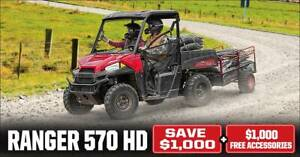 RANGER 570 HD EPS-CALL FOR PRICE-Save $1000 & $1000 Accessories FREE Fulham West Torrens Area Preview