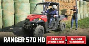 RANGER 570 HD EPS-CALL FOR PRICE- $1000 Accessories FREE Fulham West Torrens Area Preview