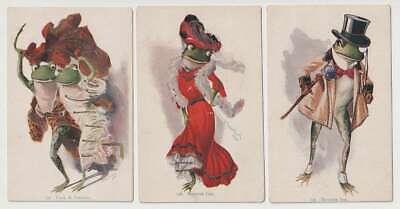 D2239: (6) 1906 Twelve Tree Frog Postcards