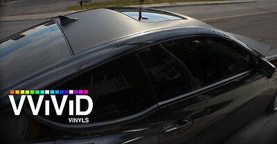 Black Carbon Fiber 5ft X 50ft Professional Vinyl Car Wrap Air Release Durable