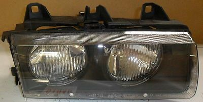 New OEM Headlamp BMW 3 Series 1992-1998 Right Passenger Side Center Tab Chipped