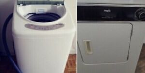 Small portable washer dryer combo
