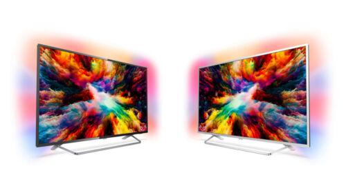 PHILIPS 55 Zoll 139cm 4K UHD LED Fernseher Smart TV Ambilight Android NEU