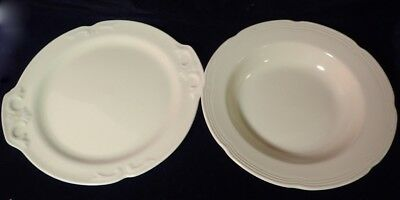 lot of 2 vintage yellow china plates 1 is Delphatic Primrose by Barrats England
