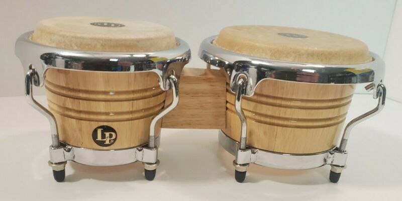 LP Music Collection Mini Bongo Drums Hand Crafted Thailand LPM199 AW