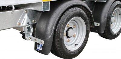 "2 x Genuine Ifor Williams Trailer 12"" Wheel Arch / Mudguard / Mudflap - C72712"