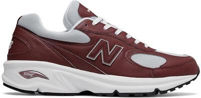 - NEW BALANCE 498  ML498FFA BURGUNDY/SILVER/WHITE/GREY - LEATHER/MESH - RETRO
