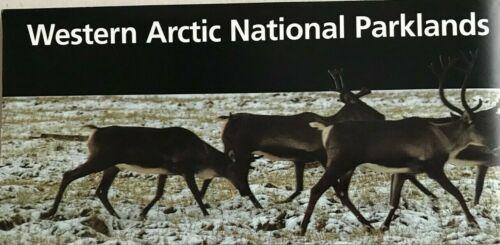 New WESTERN ARCTIC PARKLANDS Alaska  NATIONAL PARK SERVICE UNIGRID BROCHURE  Map