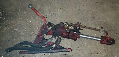 Massey Harris 33 44 Tractor Hydraulic Cylinder With Bracket Cylinder Valve Part