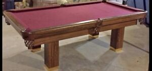 Dufferin pool table (SOLD)