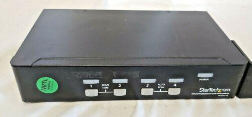 StarTech SV431USB KVM Switch 4 Port Professional