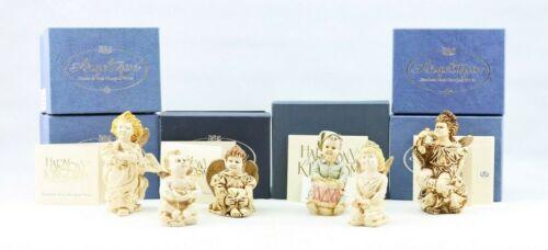 Lot of 6 Harmony Kingdom Angelique Treasure Box Figurines