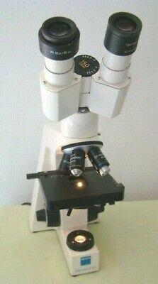 Zeiss Standard 20 Microscope W Four Infinity Objectives