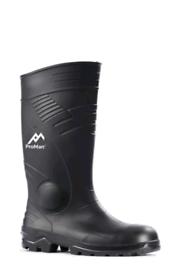 Steel toes Wellington boots