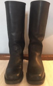 Frye Women's Campus 14L Tall Black Leather Boots