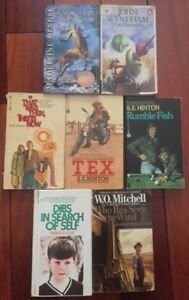 Lot of 7 Youth Classics in Paperback (used)