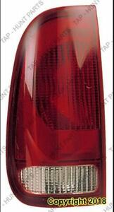 Tail Light Driver Side Style Side Exclude Crew Cab High Quality Ford F250 F350 F450 F550 1999-2003