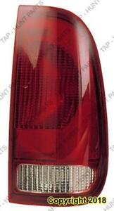 Tail Lamp Passenger Side Style Side Exclude Crew Cab High Quality Ford F250 F350 F450 F550 1999-2003